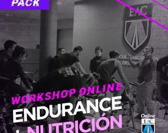 Workshop ENDURANCE + NUTRICIÓN