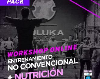 Workshop ENTRENAMIENTO NO CONVENCIONAL + NUTRICIÓN