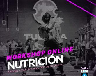 Workshop NUTRICIÓN