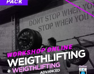 Workshop WEIGHTLIFTING + WEIGHTLIFTING ADVANCED