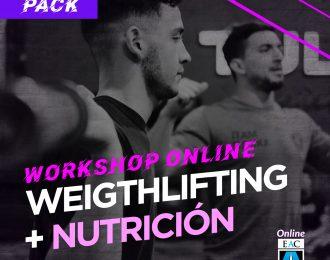 Workshop WEIGHTLIFTING + NUTRICION