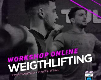 Workshop WEIGHTLIFTING