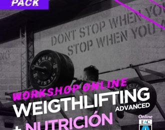 Workshop WEIGHTLIFTING ADVANCED + NUTRICIÓN